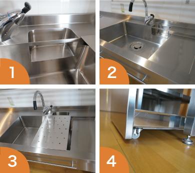 キッチンを選べるオーダーキッチン天板